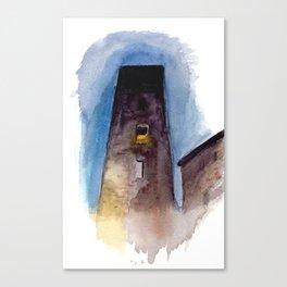 Viterbo at Night Canvas Print