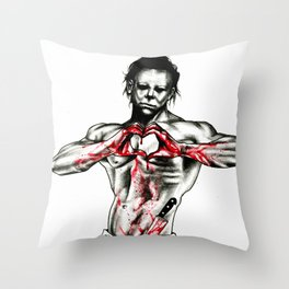 Happy Halloween from your killer Throw Pillow