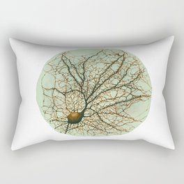 Neuron Watercolour Rectangular Pillow