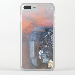 One Mans Trash.. Clear iPhone Case