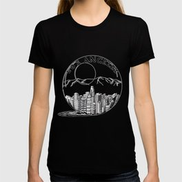 Los Angeles City in a Glass Ball T-shirt