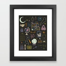 Haunted Attic Framed Art Print