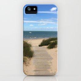 Breezy Seaside Path iPhone Case