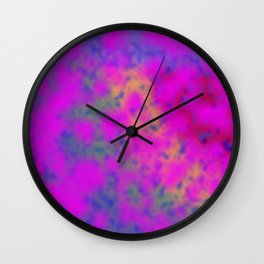 Cloudburst #1 Wall Clock
