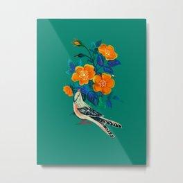 Autumnal Rose Metal Print