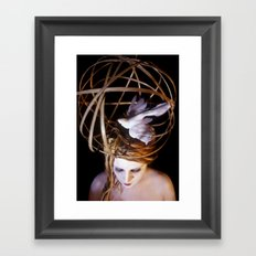 Bird Headpiece Framed Art Print