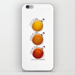 TEA PRINT iPhone Skin