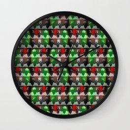 locura del artista Wall Clock