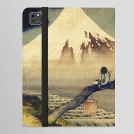 Katsushika Hokusai Boy Viewing Mount Fuji iPad Folio Case