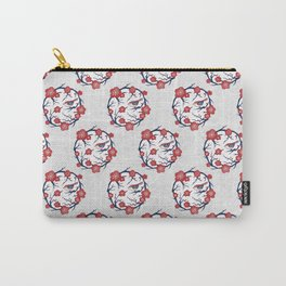 Plum Blossom / Ume Flower (梅の花) Carry-All Pouch