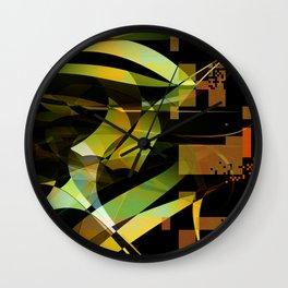 organic digital Wall Clock