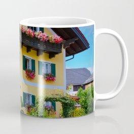 Austrian Flower Boxes Coffee Mug