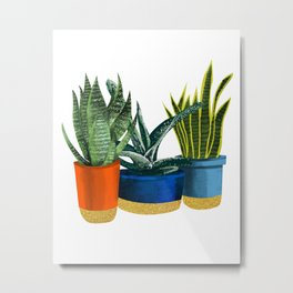 Little Garden Metal Print