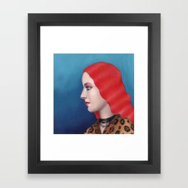 Daphne Framed Art Print