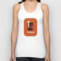 dylan Tank Tops featuring Dylan by Jota Torcida