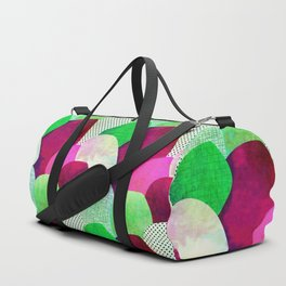 Opala Circles are the new triangles purple #homedecor Duffle Bag