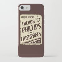 gta iPhone & iPod Cases featuring GTA Trevor Phillips Enterprises by Spyck