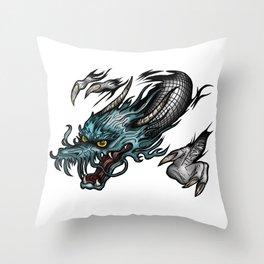 Dragon Soar Throw Pillow