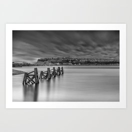 Dramatic Skies Over Cardiff Bay Art Print