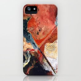X Marks the Spot iPhone Case