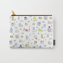 Cats in Couture Carry-All Pouch
