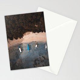 Tropical Beach El Nido Palawan Philippines  Stationery Cards