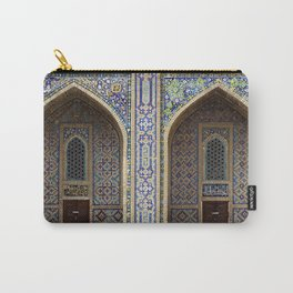Samarkand ornamented portals Carry-All Pouch