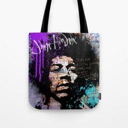 JIMI GOD / PURPLE Tote Bag