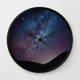 New Zealand's Night Sky Wall Clock