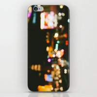 las vegas iPhone & iPod Skins featuring Las Vegas by Alden Terry