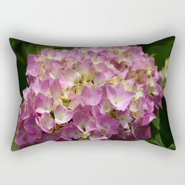 Pink Hortensia Rectangular Pillow