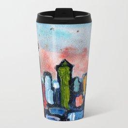 Seattle by Starlight Metal Travel Mug