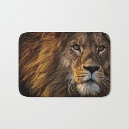 Majestic Lion Bath Mat