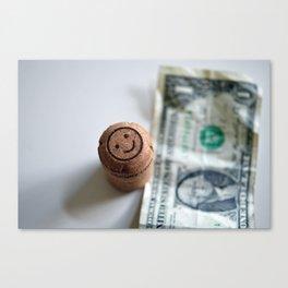I found a dollar Canvas Print
