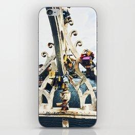 Love Locks on the Ha'penny Bridge iPhone Skin
