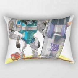 Bomb Disposal Tailgate Rectangular Pillow