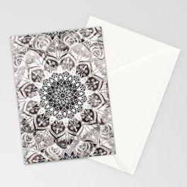 Bohemian Feelings Mandala Stationery Cards