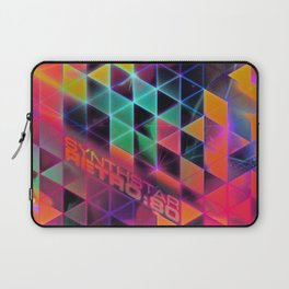 synthstar retro:80 Laptop Sleeve