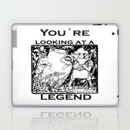 You're Looking At A Legend St Patricks Day Clurichaun Laptop & iPad Skin