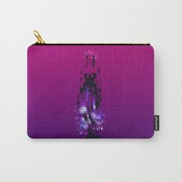 Splaaash Series - Flower Queen Ink Carry-All Pouch