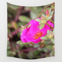 Neon Flower Wall Tapestry