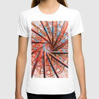 plain T-shirts featuring Just Plain Crazy by Brian Raggatt