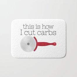 This Is How I Cut Carbs Bath Mat