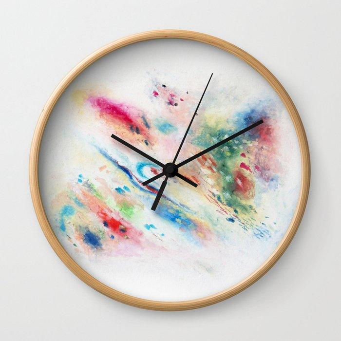 November Daydream Wall Clock