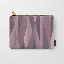 pink pastel geometric Carry-All Pouch
