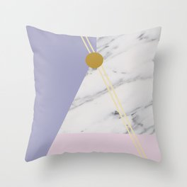 Minimal Complexity v.4 Throw Pillow
