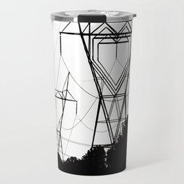 I heart your electricity. Travel Mug