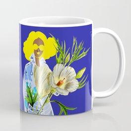 Faces on Her Dress Coffee Mug