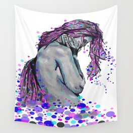 Poka Dots and Sad Thoughts Wall Tapestry