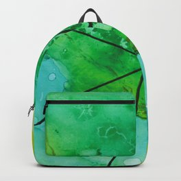 Green under the Lines Backpack